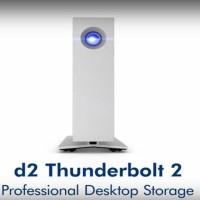 Harddisk External Lacie Quadra 8TB D2 Drive Dual -oris