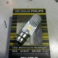 lampu led H6 philips Ac Dc motor bebek dan matic