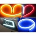 Lampu LED DRL Panjang 30CM Alis Mobil dan Motor Lentur dan Flexible