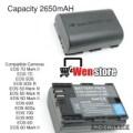 lp-e6 baterai kamera canon eos 5d 6d 7d 60d 70d 80d good quality