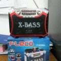 Speaker FLECO F-3336U Mp3 Player + Senter Lampu Radio Audio Musik