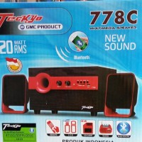 MURAH Speaker Aktif GMC TECKYO 778C Extra Super sound Bluetooth