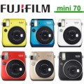 Fujifilm Kamera Instax Mini 70 Camera Garansi Resmi Indonesia - GOLD