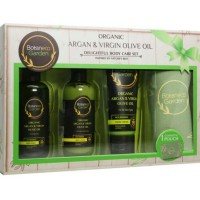 Botaneco Garden Organic Argan&Virgin Olive Oil Delighful Body Care Set