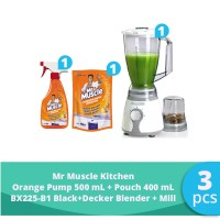 SC Johnson & Son x SBD - BX225B1 Blender + Mr. Muscle Kitchen Orange