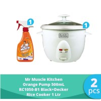 SC Johnson & Son x SBD - Rice Cooker 1 Ltr + Mr Muscle Kitchen