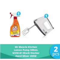 SC Johnson & Son x SBD - Hand Mixer 300 W + Mr Muscle Kitchen Lemon