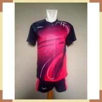Baju Celana Volley Kaos Jersey Setelan Voli Asics Ac02 Magenta 07663a57c8