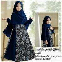 Kid Lusia Kid/Gamis Batik Anak/Baju Muslim Anak Perempuan