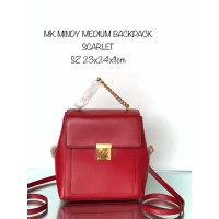 TAS RANSEL MICHAEL KORS BACKPACK MINDY MEDIUM SCARLET