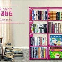 Almari Lemari Rak Buku Majalah Dokumen Kantor Portable Serba Guna