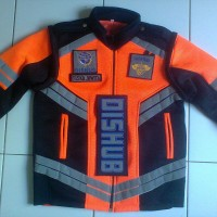 Romket rompi jaket dishub/komunitas club touring double mess tebal