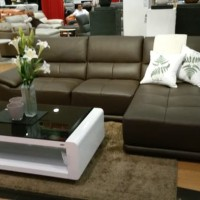 sofa tamu sudut Sofa L Arpertura Cantik,Mewah,minimalis murah