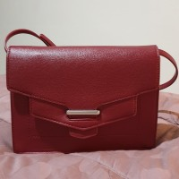 ORIGINAL second item Sling Bag Tas Selempang PEDRO (Red)