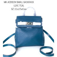 TAS RANSEL MICHAEL KORS BACKPACK ADDISON SMALL LUXE TEAL