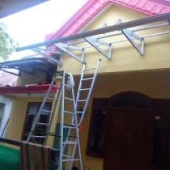 Rangka Kanopi Jendela Baja Ringan Jual Menerima Panggilan Pembuatan Pagar Tralis Dll