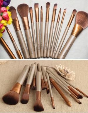 Brush Make Up Komplit Berbagai Ukuran Untuk Pemula