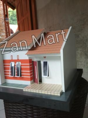 Maket Rumah Sederhana : maket, rumah, sederhana, Maket, Miniatur, Rumah, Tinggal, Sederhana, Cirebon, Tokopedia