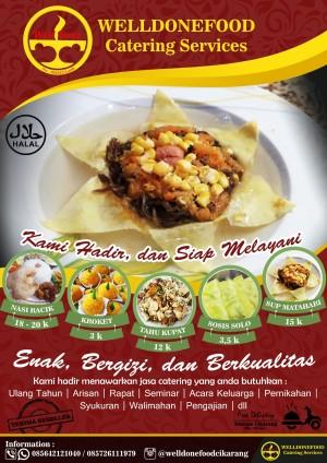Contoh Brosur Catering : contoh, brosur, catering, Desain, Brosur, Catering/, Design, Catering, Jakarta, Utara, Omah.Desain, Tokopedia