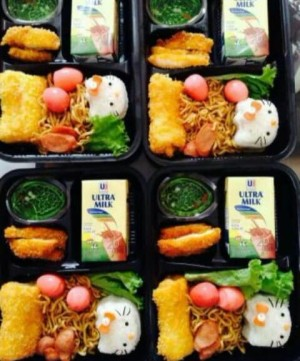 Catering Bento Ultah Anak Surabaya | Katering Bento Anak