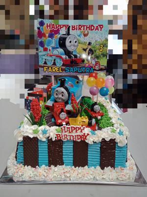 Gambar Kue Ulang Tahun Anak Laki Laki Terbaru : gambar, ulang, tahun, terbaru, Ultah, Laki