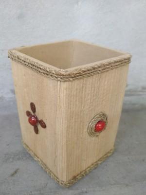Kotak Tisu Dari Pelepah Pisang : kotak, pelepah, pisang, Kotak, Pensil, Pelepah, Pisang, Goreng