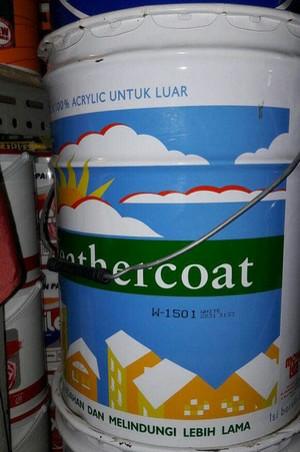 1 Galon Cat Berapa Liter : galon, berapa, liter, Mowilex, Weathercoat, Liter, Eksterior, Jakarta, Timur, Sumber, Karya, Tokopedia