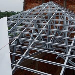 pasang atap baja ringan di cianjur jual pemasangan rangka kab