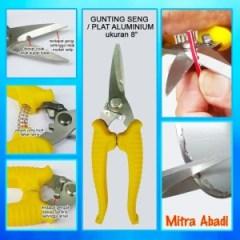 Memilih Gunting Baja Ringan Jual Seng Aluminium 8 Inch