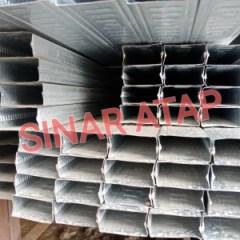 Harga Baja Ringan Hollow 3x3 Jual Plafon Galvalume 20 X 40 Tebal 0 3mm