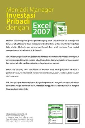 Aplikasi Keuangan Pribadi Excel : aplikasi, keuangan, pribadi, excel, Menjadi, Manager, Investasi, Pribadi, Dengan, Excel, Surabaya, DZpedia, Tokopedia