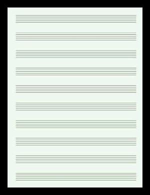 Jual Buku tulis not balok music manuscript book buku