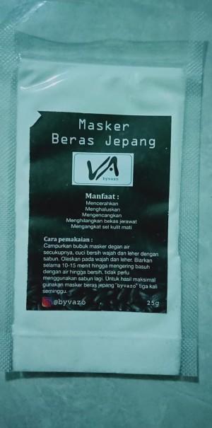 Cara Membuat Masker Beras Untuk Jerawat : membuat, masker, beras, untuk, jerawat, Masker, Beras, Jepang, ByVazo, Jakarta, Barat, Shop011, Tokopedia
