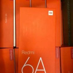 HP XIAOMI REDMI 6A (XIOMI MI 6 A RAM 2/16 2GB 16GB) GOLD -BLUE- GREY
