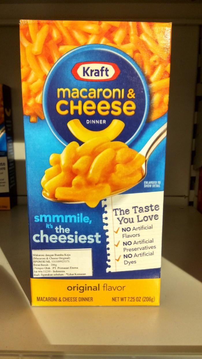 Jual Kraft Macaroni Cheese 250gr Jakarta Selatan Papanayra Tokopedia