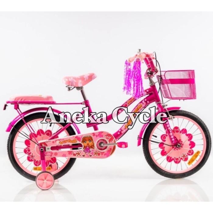 Jual Sepeda Anak Roda Empat Cewek Perempuan Mini United ...