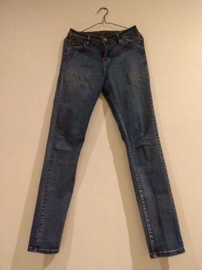 Jual Celana Navy Size 4 Garage Jeans Jakarta Pusat Preloved297 Tokopedia
