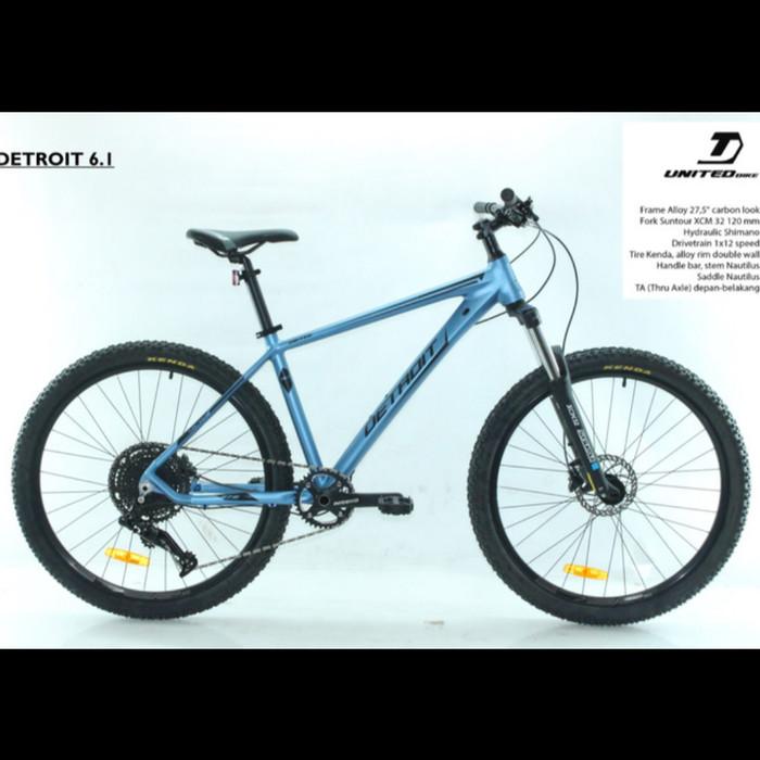 Jual Sepeda Gunung MTB Dewasa 27.5 Inch United DETROIT 6.1 ...