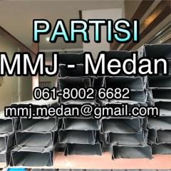 Harga Baja Ringan Di Medan 2018 Jual Partisi C71 040 4 6 Meter Bersaing