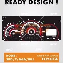 Speedometer Grand New Avanza Kekurangan All Yaris Trd Jual Papan Spidometer Spedometer Custom Xenia