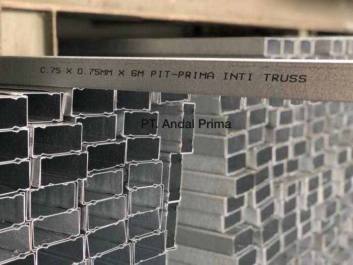 harga baja ringan merk prima jual inti truss 0 75mm cnp kota