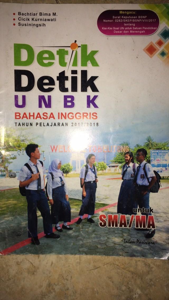 Spanduk Unbk 2018 : spanduk, Detik, Bahasa, Inggris, 2017/2018, Jakarta, Barat, Glen's, Tokopedia
