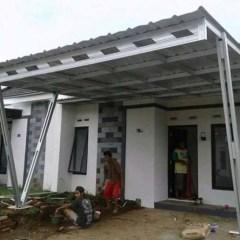 Harga Kanopi Baja Ringan Jakarta Timur Jual Spandek Pesanan Pak Tri Duren Sawit