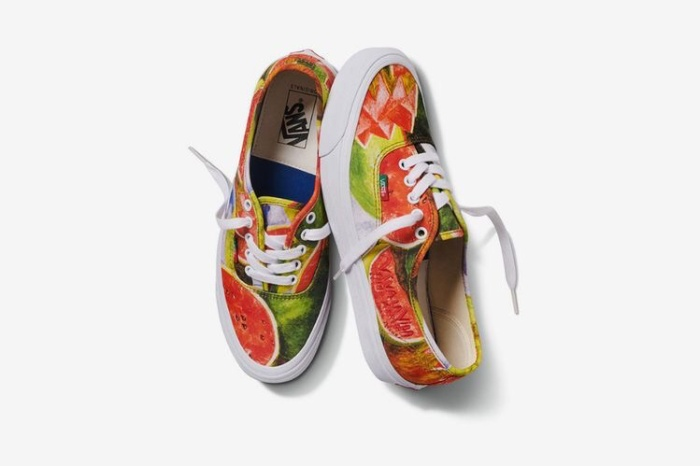 baja ringan frida jual kahlo x vans vault og authentic lx watermelon original