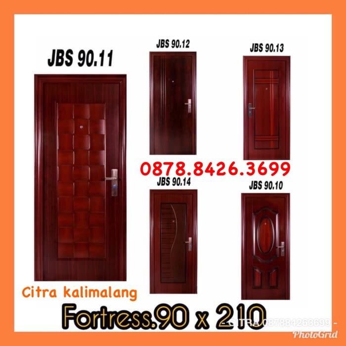 baja ringan merk agis jual pintu jbs fortress 90x210x5 cm kota bekasi