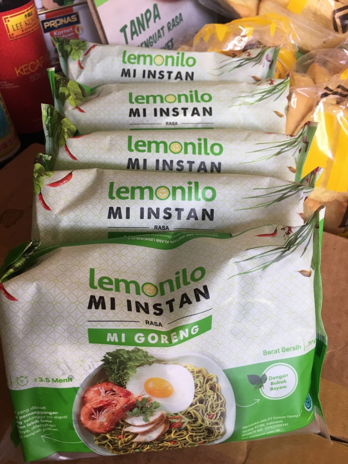 Kalori Mie Lemonilo Goreng : kalori, lemonilo, goreng, Lemonilo, Goreng, Bekasi, CrownKim, Tokopedia