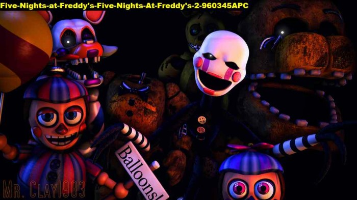 Jual Poster Five Nights At Freddys 2 960345 90x51 Pet Kab Majalengka Juragan Poster Murah Tokopedia