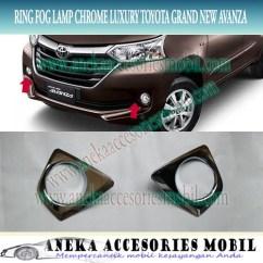 Garnish Fog Lamp Grand New Avanza Kapasitas Oli Jual Ring Cover Luxury Mobil Toyota