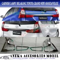 Lampu Belakang Grand New Avanza Harga Veloz 1.5 A/t Jual Paket Garnish Depan Dan Toyota