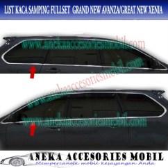 List Grand New Avanza Veloz Ceper Jual Kaca Samping Fullset Mobil Toyota